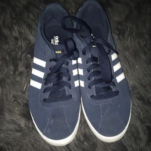Adidas sneakers. Navy blue. Never worn